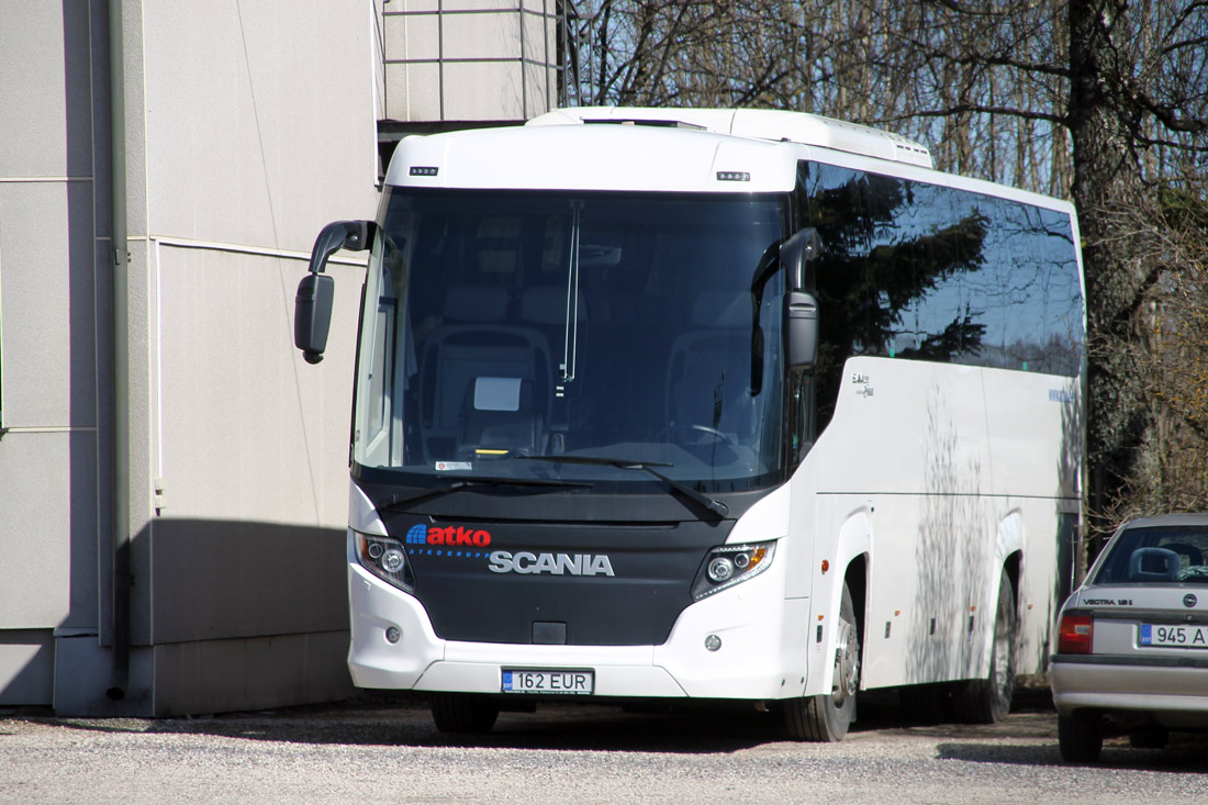Valga, Scania Touring HD (Higer A80T) № 162 EUR