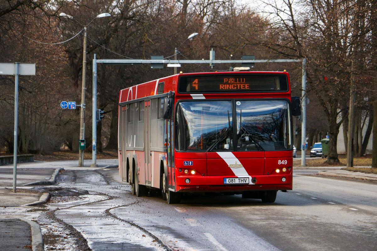 Tartu, МАЗ-107.468 № 849
