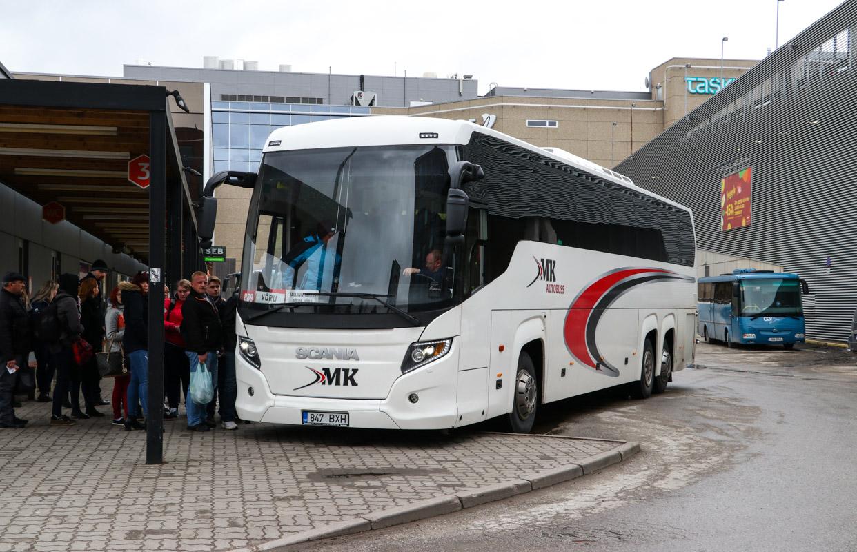 Tallinn, Scania Touring HD (Higer A80T) № 847 BXH