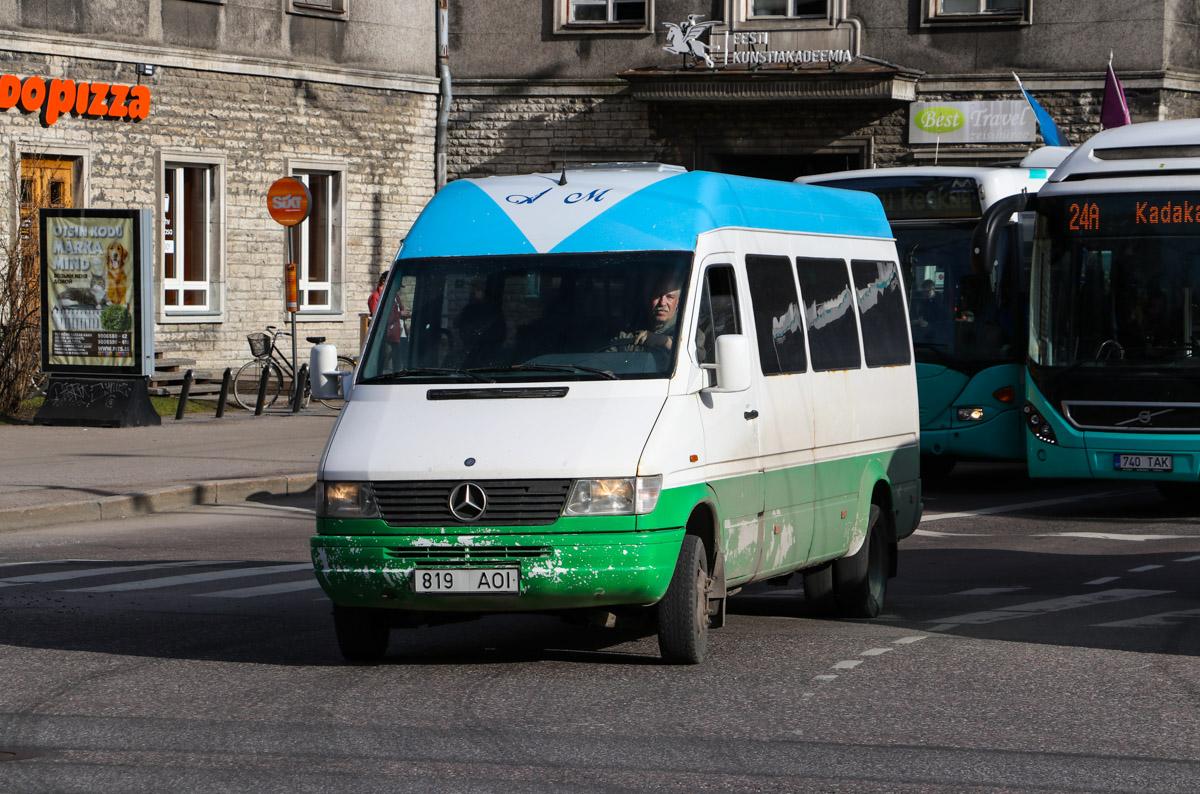Tallinn, Mercedes-Benz Sprinter 412D № 819 AOI