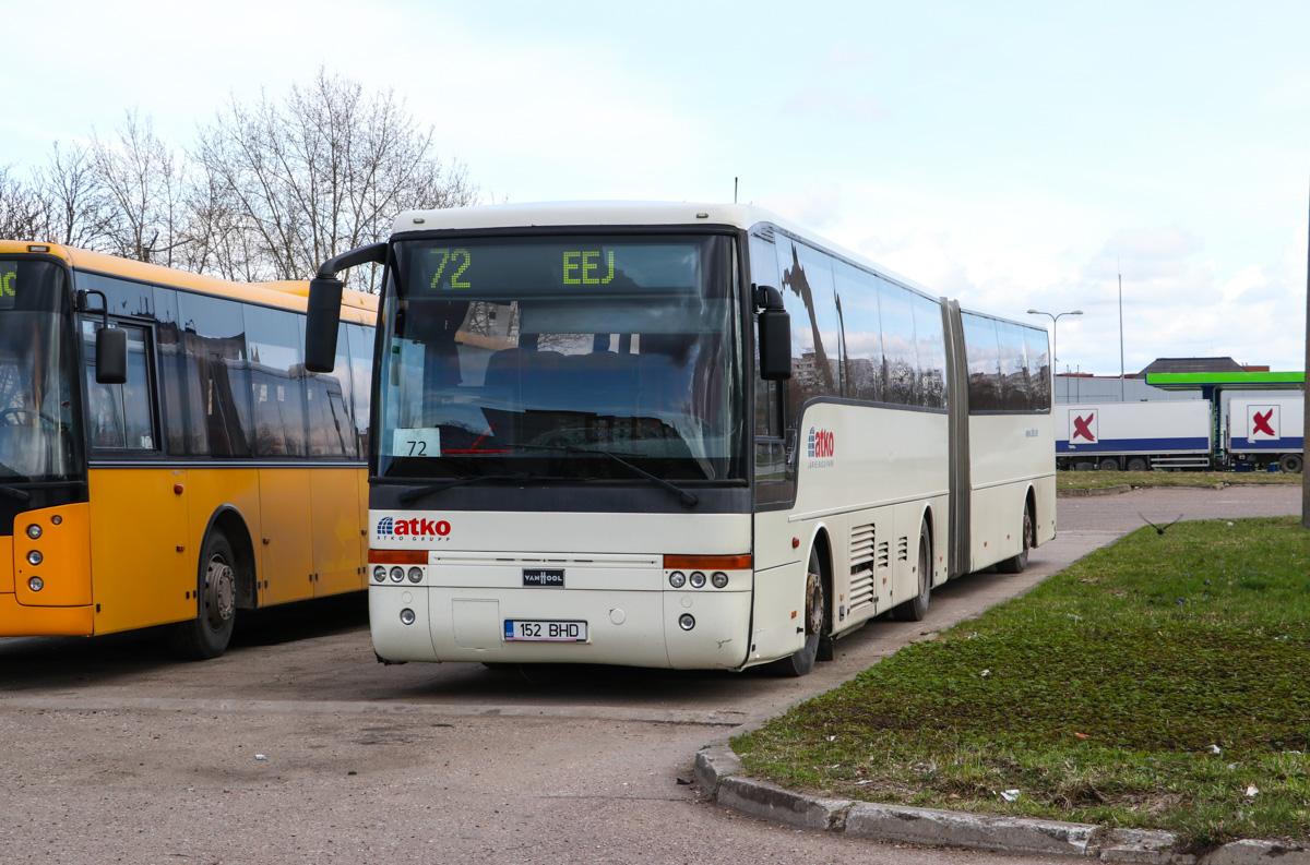 Kohtla-Järve, Van Hool T9 Alizée № 152 BHD