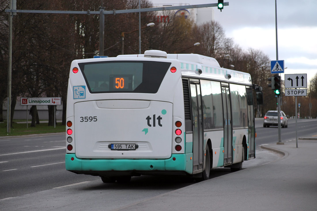 Tallinn, Scania OmniCity CN270UB 4X2EB № 3595