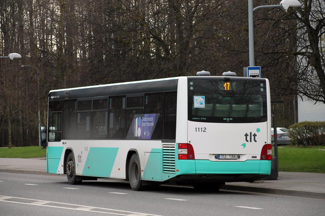 Tallinn, MAN A78 Lion's City LE № 1112