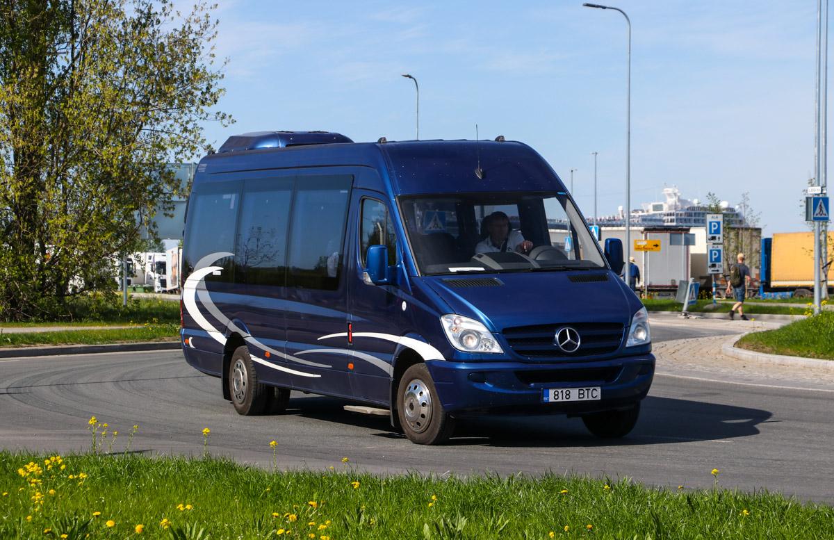 Tallinn, Mercedes-Benz Sprinter 518CDI № 818 BTC
