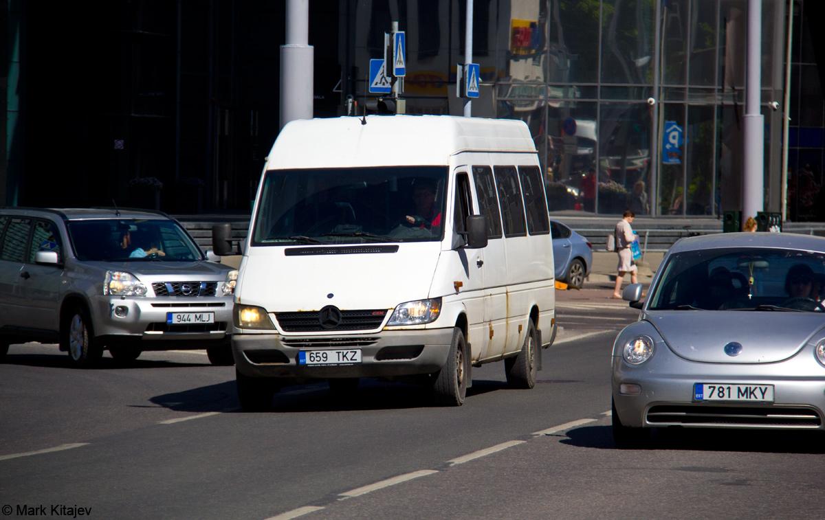 Tallinn, Mercedes-Benz Sprinter 412D № 659 TKZ