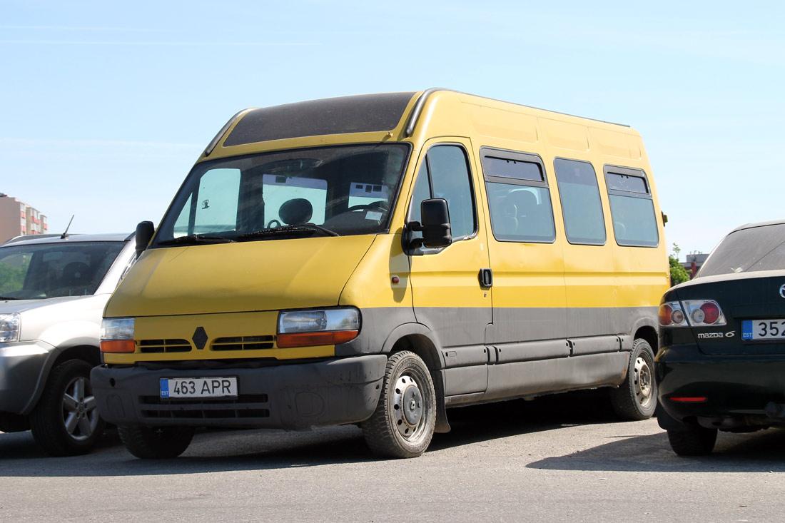 Tallinn, Renault Master № 463 APR
