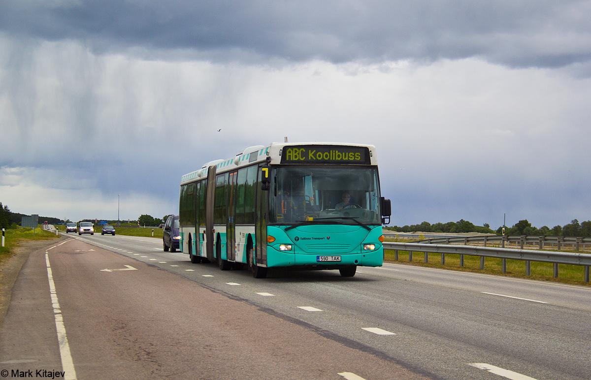 Tallinn, Scania OmniLink CL94UA 6X2LB № 3590