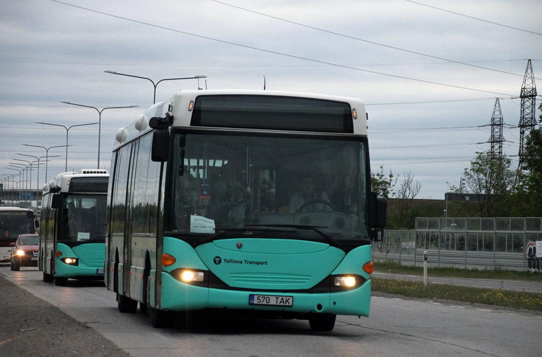 Tallinn, Scania OmniLink CL94UB № 3570