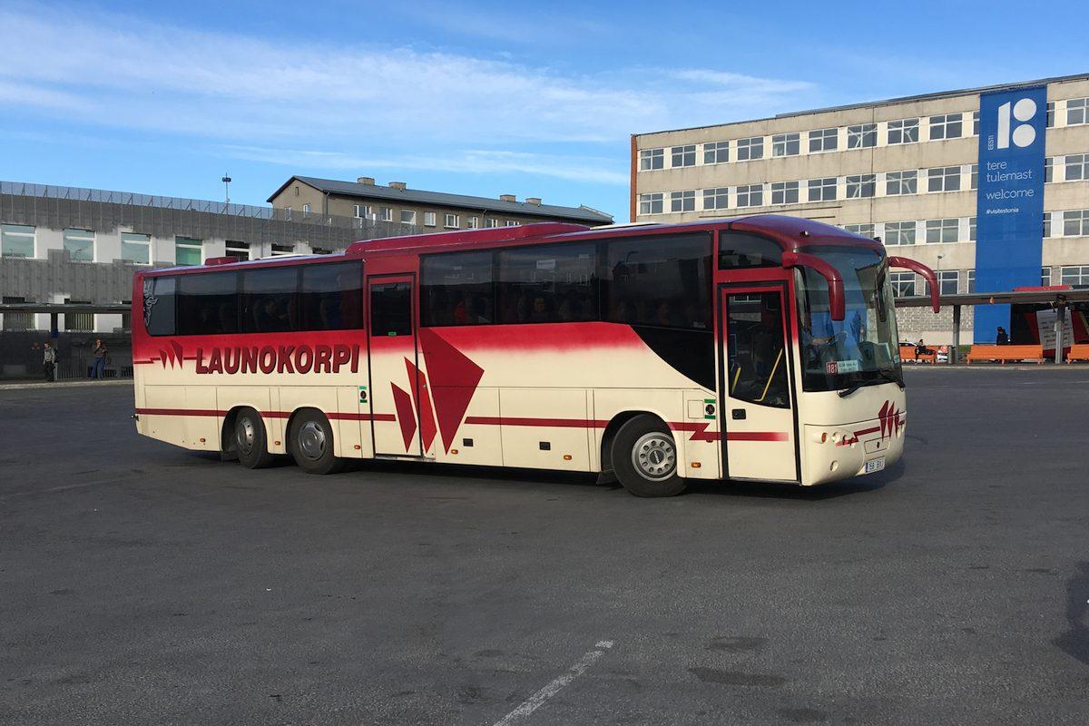 Kohtla-Järve, Helmark 355SEL № 158 BXJ