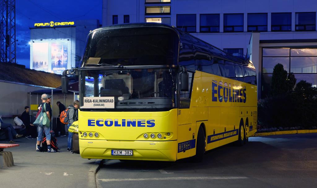 Tallinn, Neoplan N1116/3HL Cityliner № 257