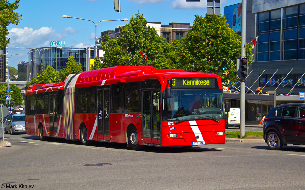 Tartu, Volvo 7500 № 873