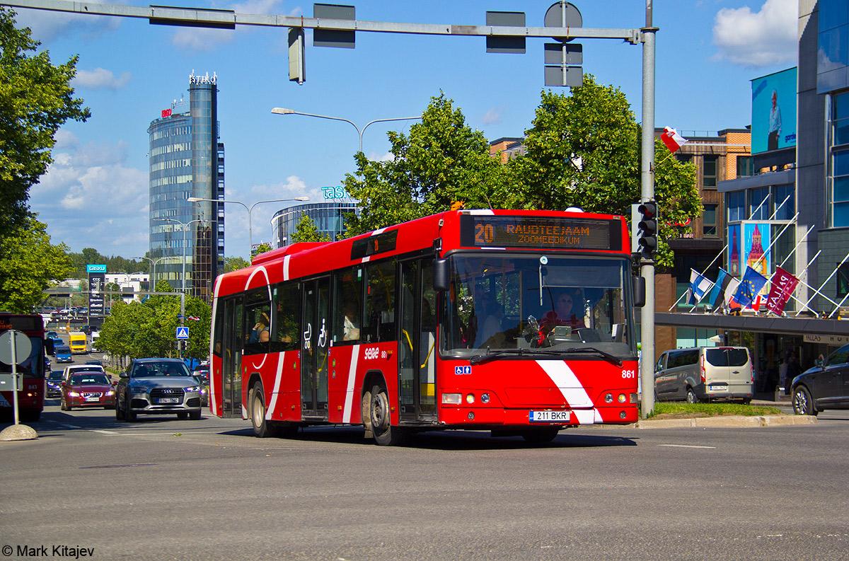 Tartu, Volvo 7000 № 861