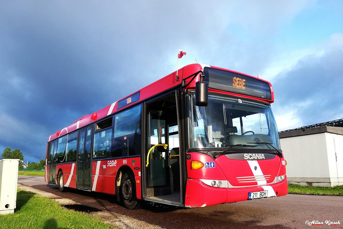 Tartu, Scania OmniCity CN230UB 4X2EB № 805