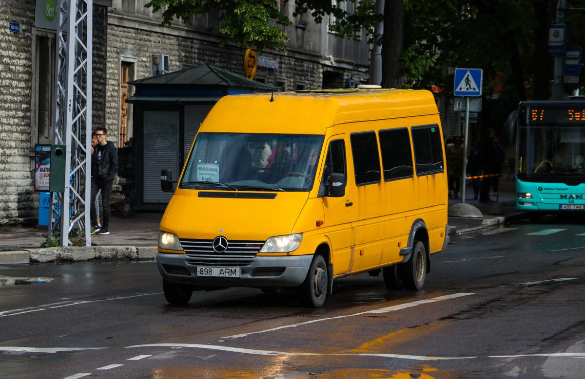 Tallinn, Mercedes-Benz Sprinter 411CDI № 898 ARM