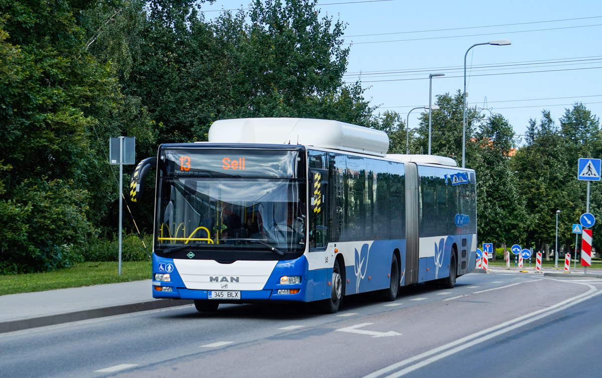 Tallinn, MAN A23 Lion's City G NG313 CNG № 345