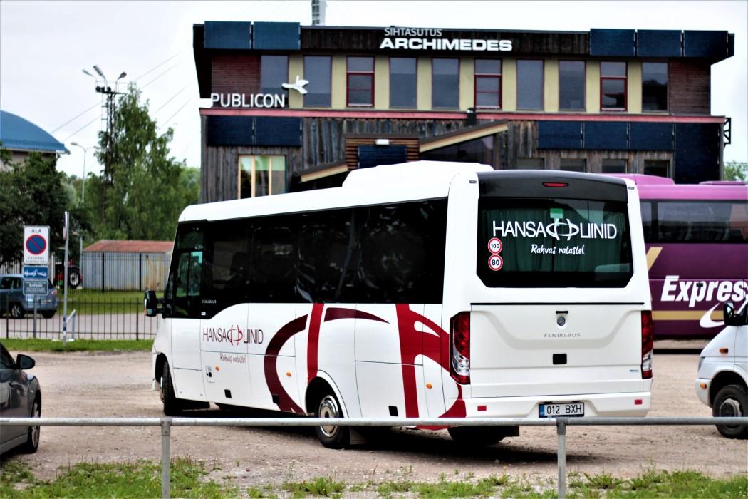 Viljandi, FeniksBUS FBI 86T № 012 BXH