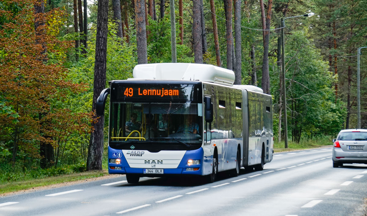 Tallinn, MAN A23 Lion's City G NG313 CNG № 344