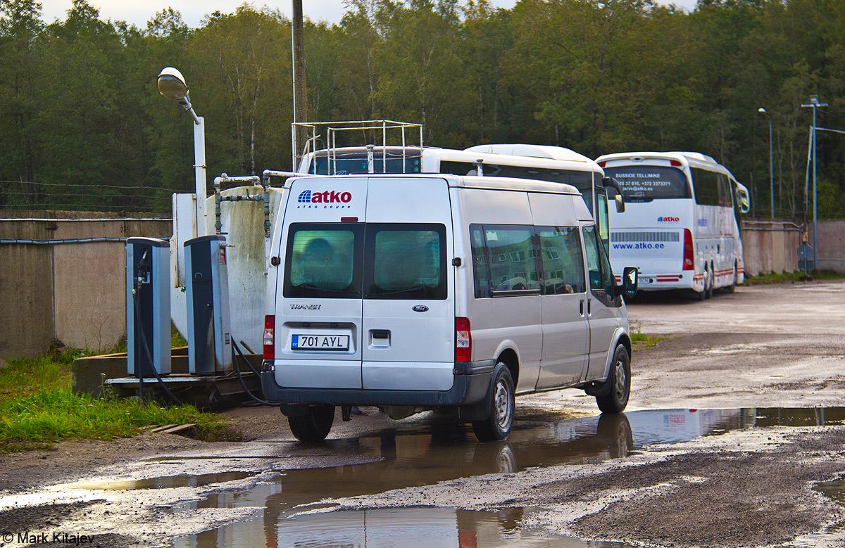 Kohtla-Järve, Ford Transit 350 LWB № 701 AYL