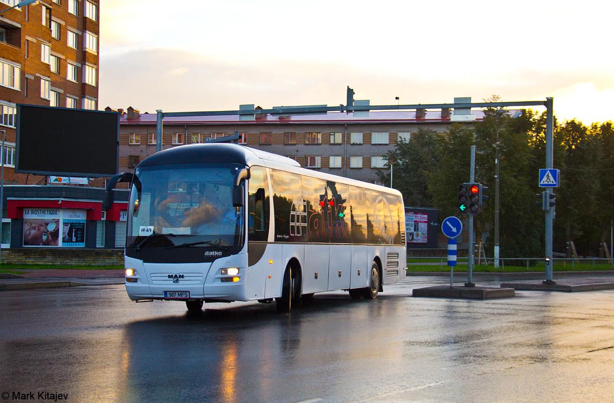 Kohtla-Järve, MAN R12 Lion's Regio ÜL364 № 987 MFS