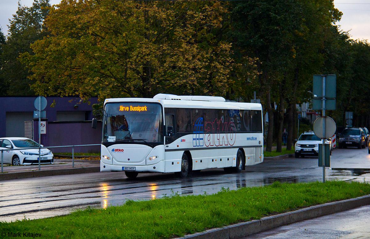 Kohtla-Järve, Scania OmniLine IK310IB № 893 MGY