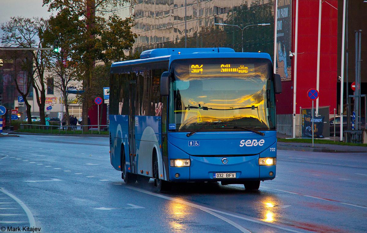 Jõhvi, Irisbus Crossway 12M № 732