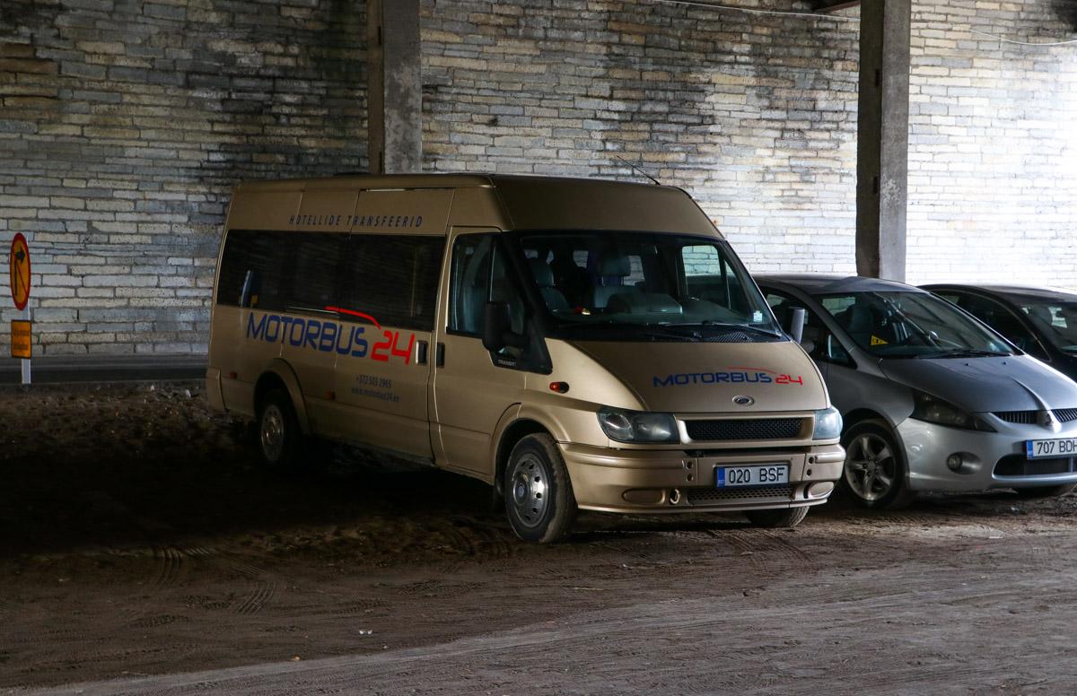 Tallinn, Ford Transit 350L Bus № 020 BSF