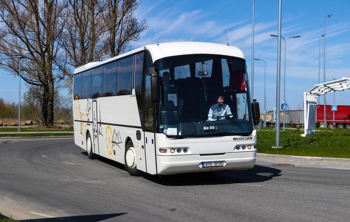 Tallinn, Neoplan N316SHD Euroliner № 670 BTN