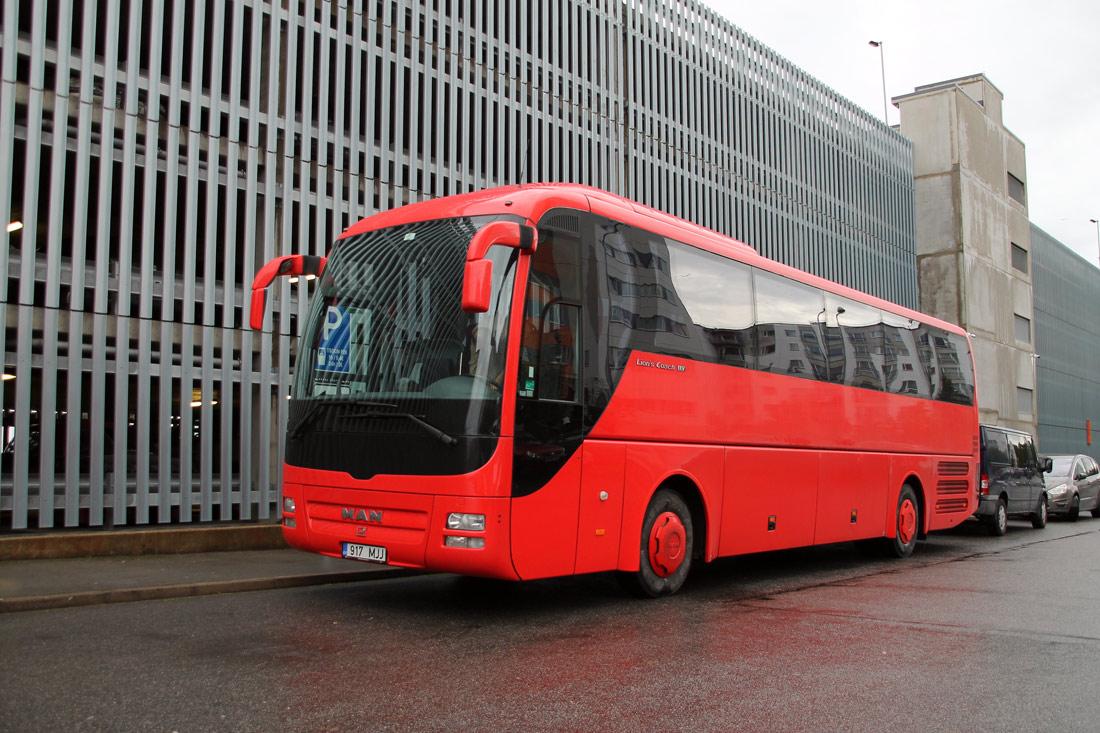 Tallinn, MAN R07 Lion's Coach RHC444 № 917 MJJ