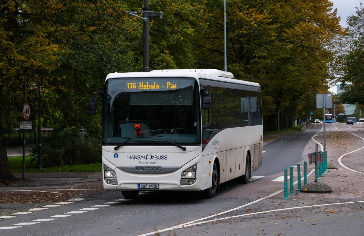 Tallinn, IVECO Crossway Line 10.8M № 597 MRR