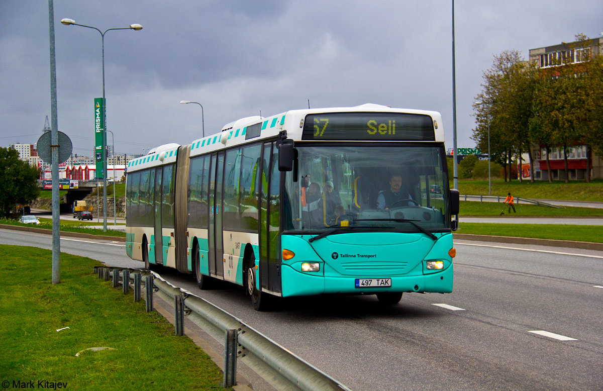 Tallinn, Scania OmniLink CL94UA 6X2LB № 3497