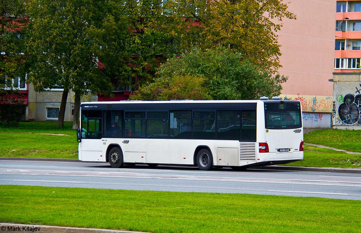 Tallinn, MAN A78 Lion's City LE № 110