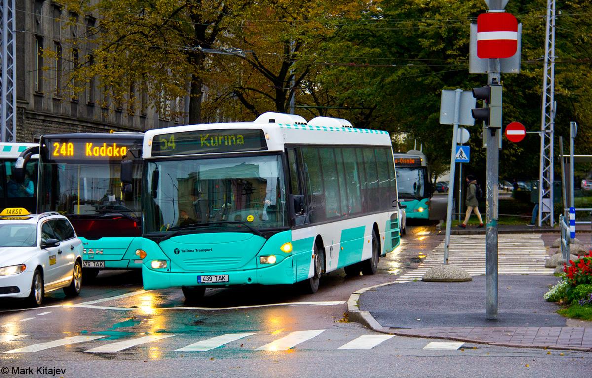 Tallinn, Scania OmniLink CL94UB № 3439