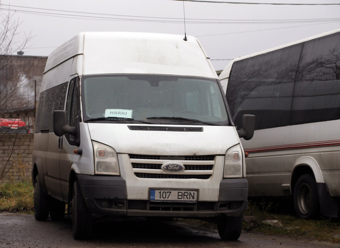 Tallinn, Ford Transit 430L EF Bus № 107 BRN