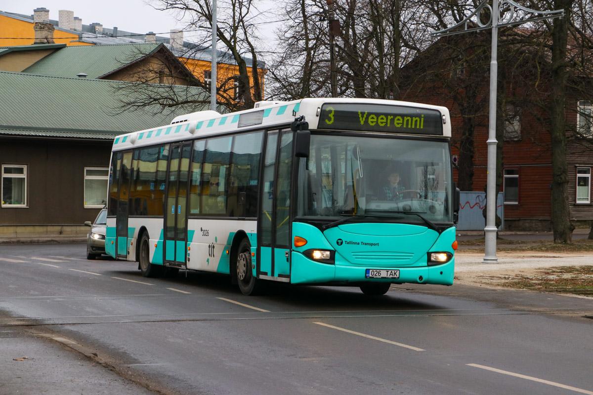 Tallinn, Scania OmniLink CL94UB № 3026