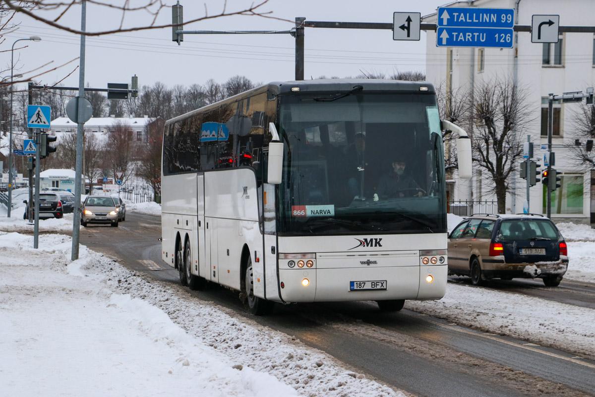 Tallinn, Van Hool T917 Acron № 187 BFX