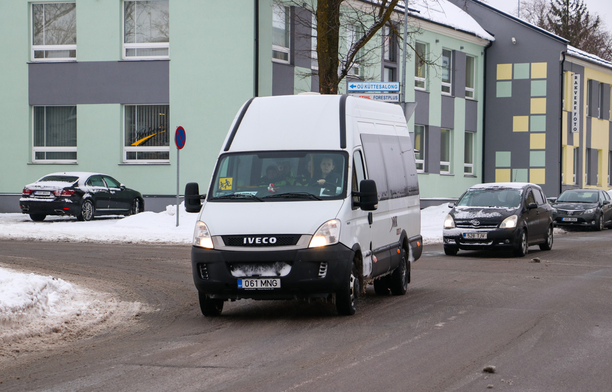 Rakvere, IVECO Daily 50C17 № 061 MNG