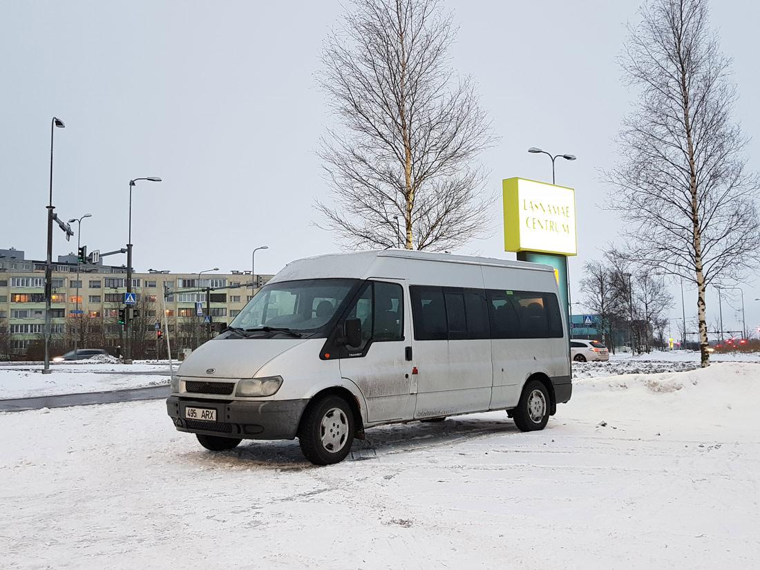 Tallinn, Ford Transit 350L Bus № 495 ARX