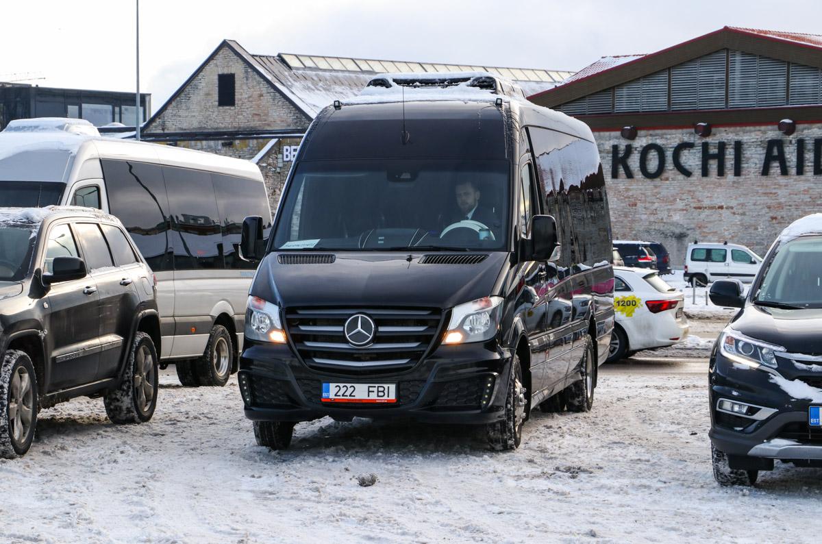 Tallinn, Mercedes-Benz Sprinter 519CDI № 222 FBI
