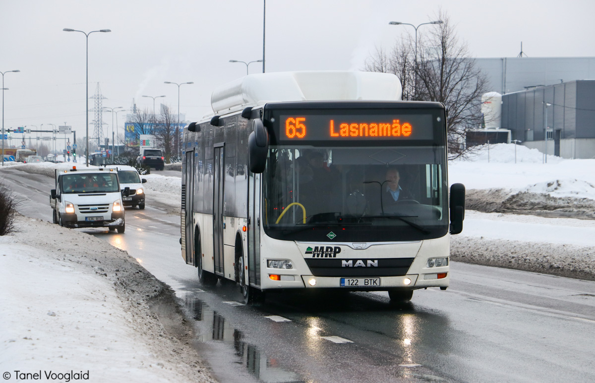 Tallinn, MAN A21 Lion's City NL313 CNG № 122