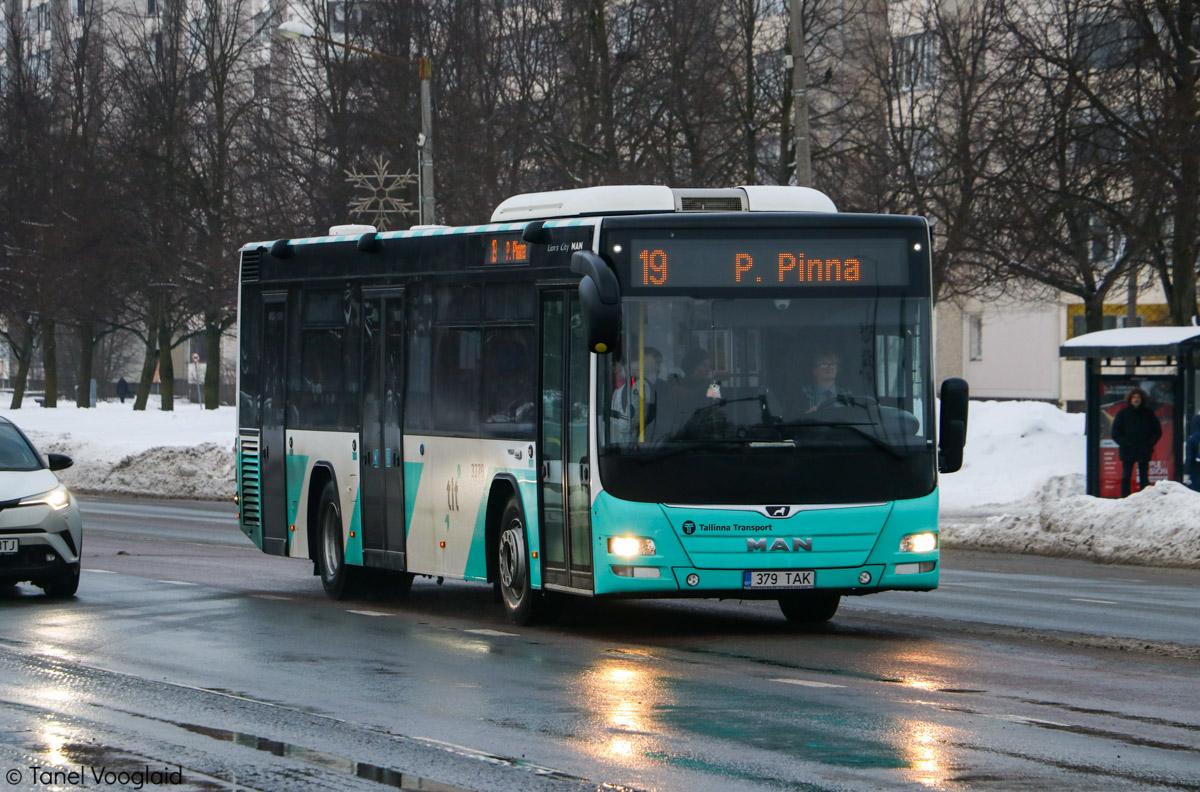Tallinn, MAN A78 Lion's City LE № 3379