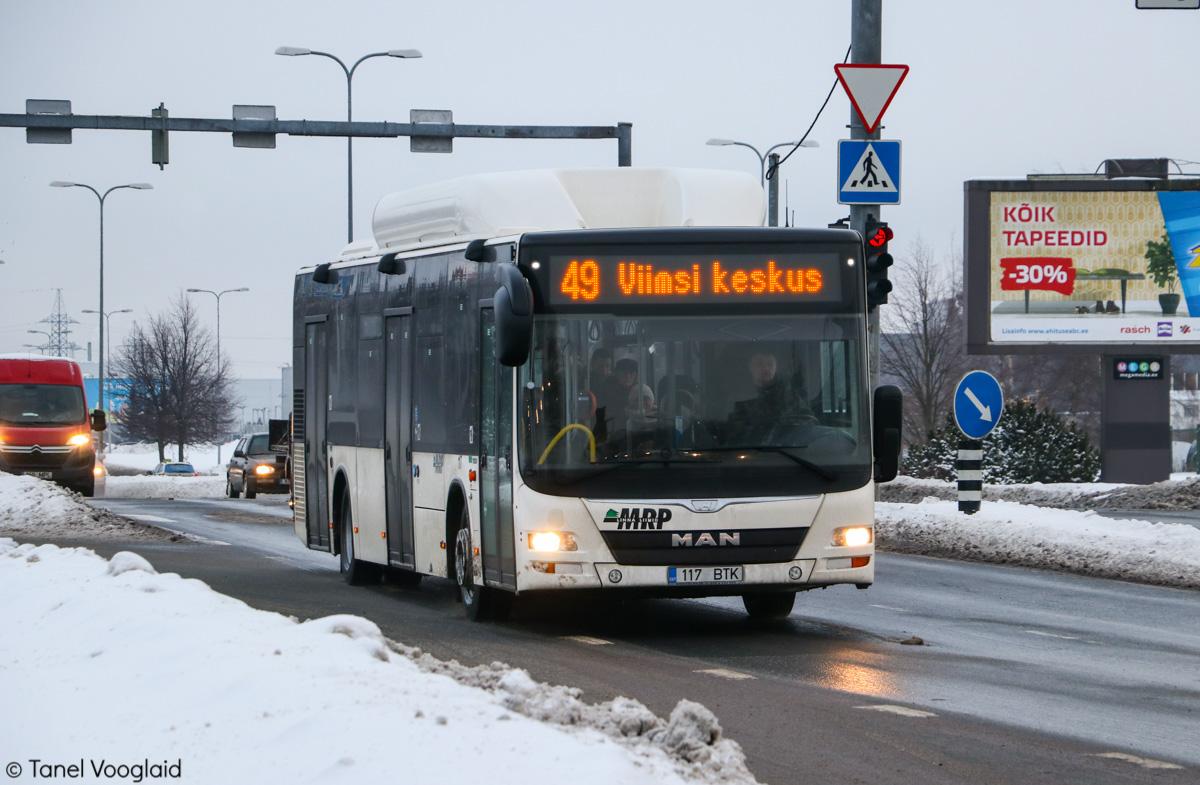 Tallinn, MAN A21 Lion's City NL313 CNG № 117
