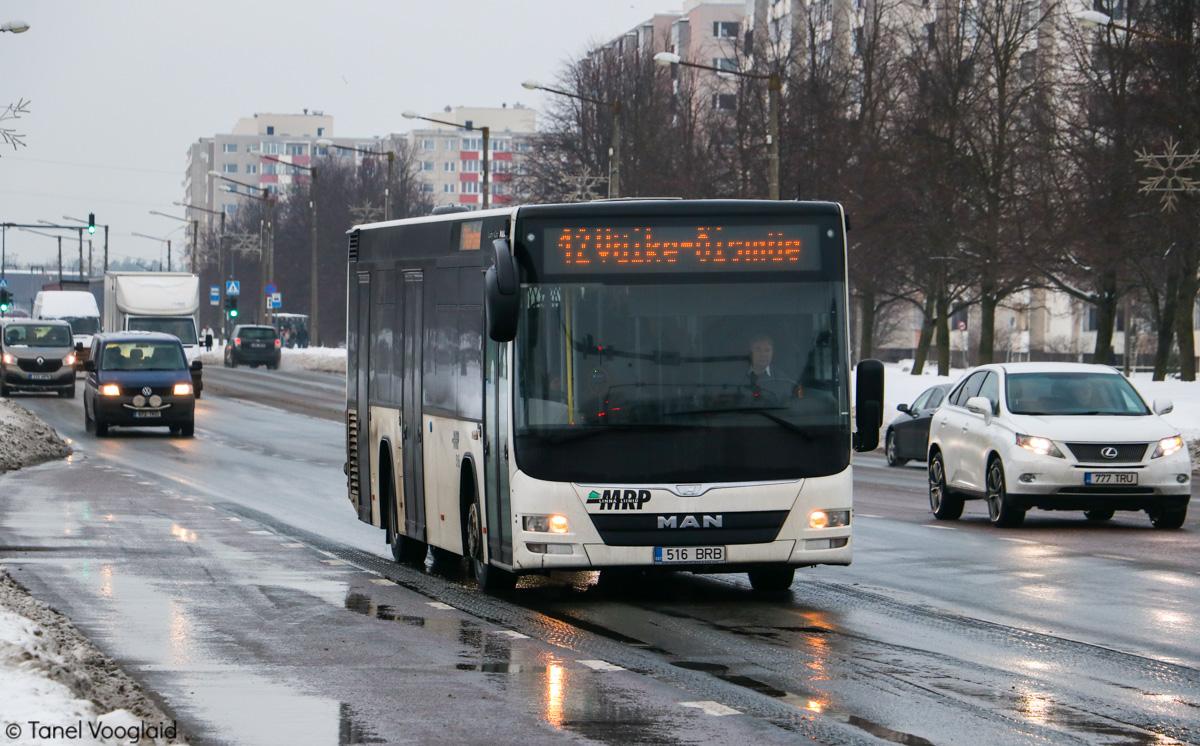Tallinn, MAN A78 Lion's City LE № 516