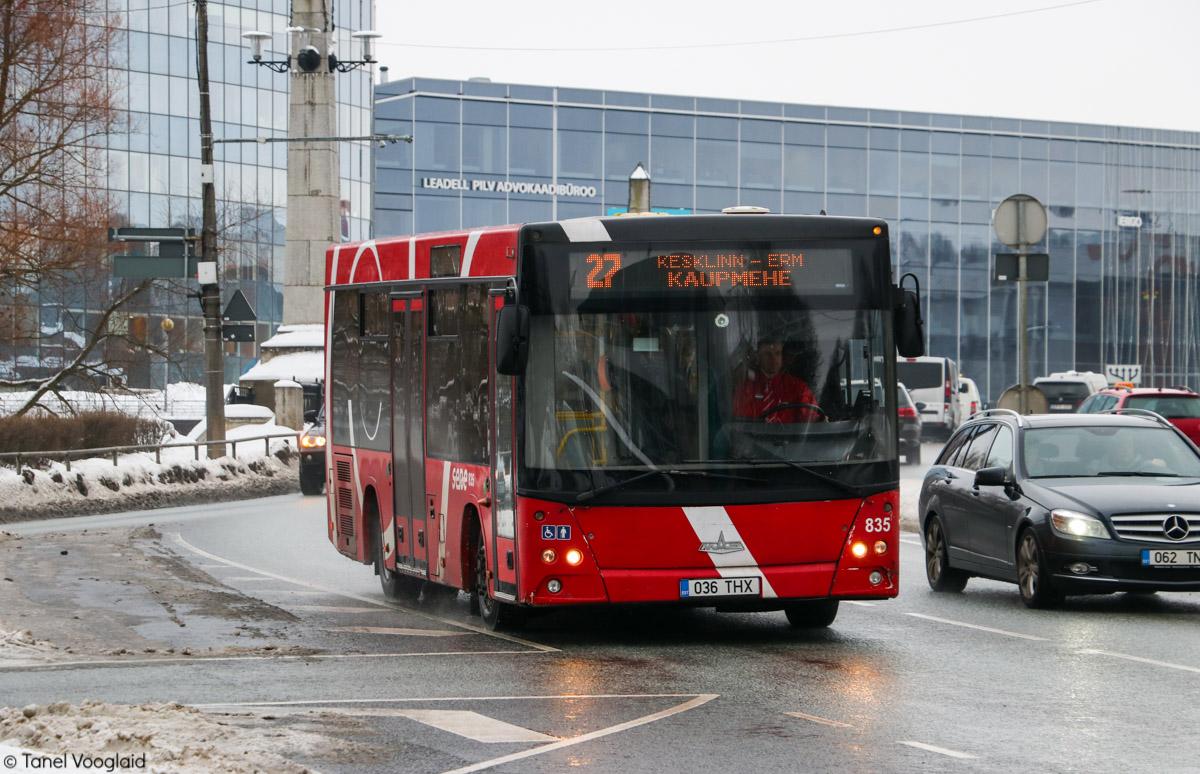 Tartu, МАЗ-206.069 № 835