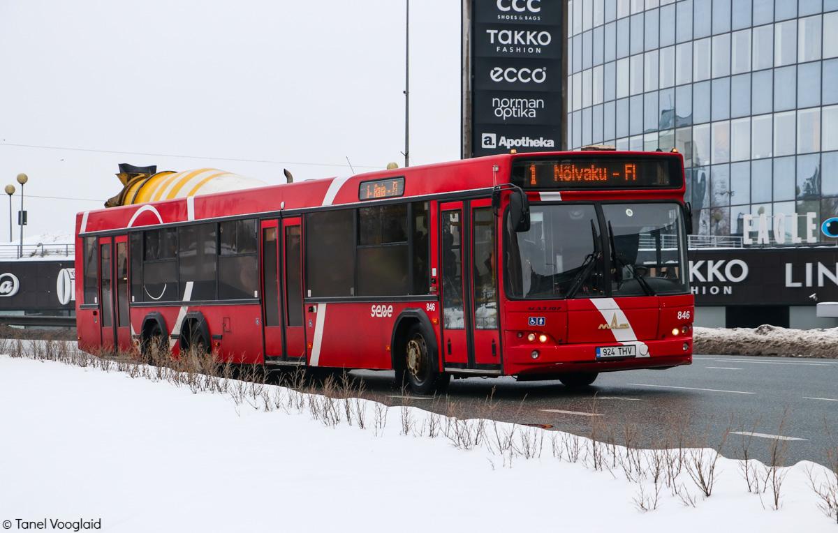 Tartu, МАЗ-107.469 № 846