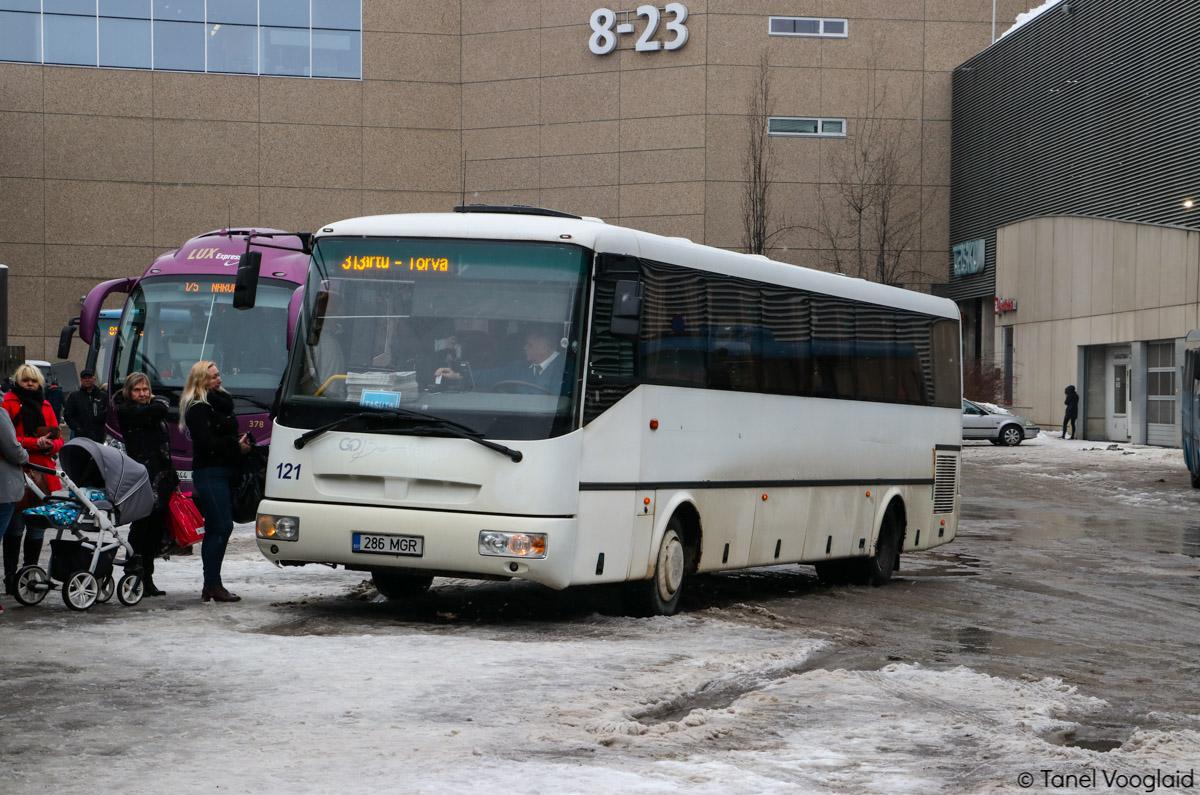 Tartu, SOR C 10.5 № 286 MGR