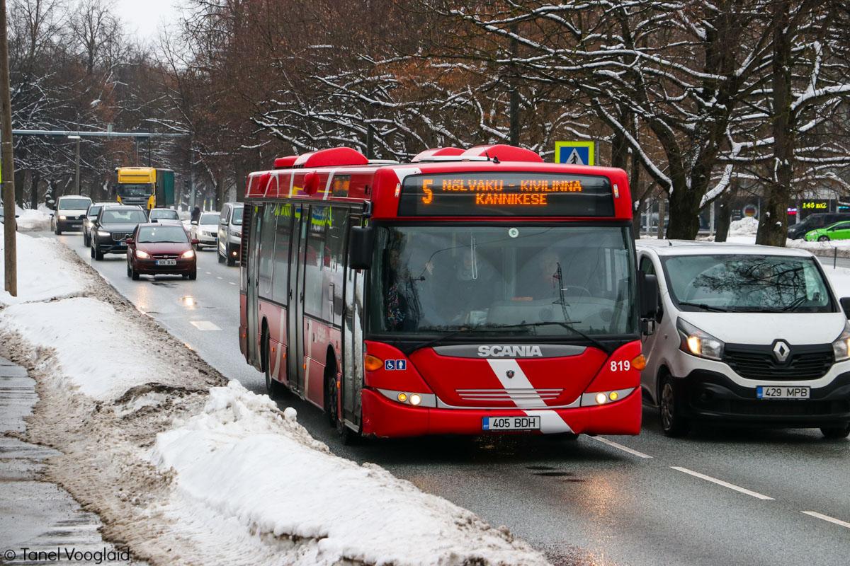 Tartu, Scania OmniCity CN230UB 4X2EB № 819