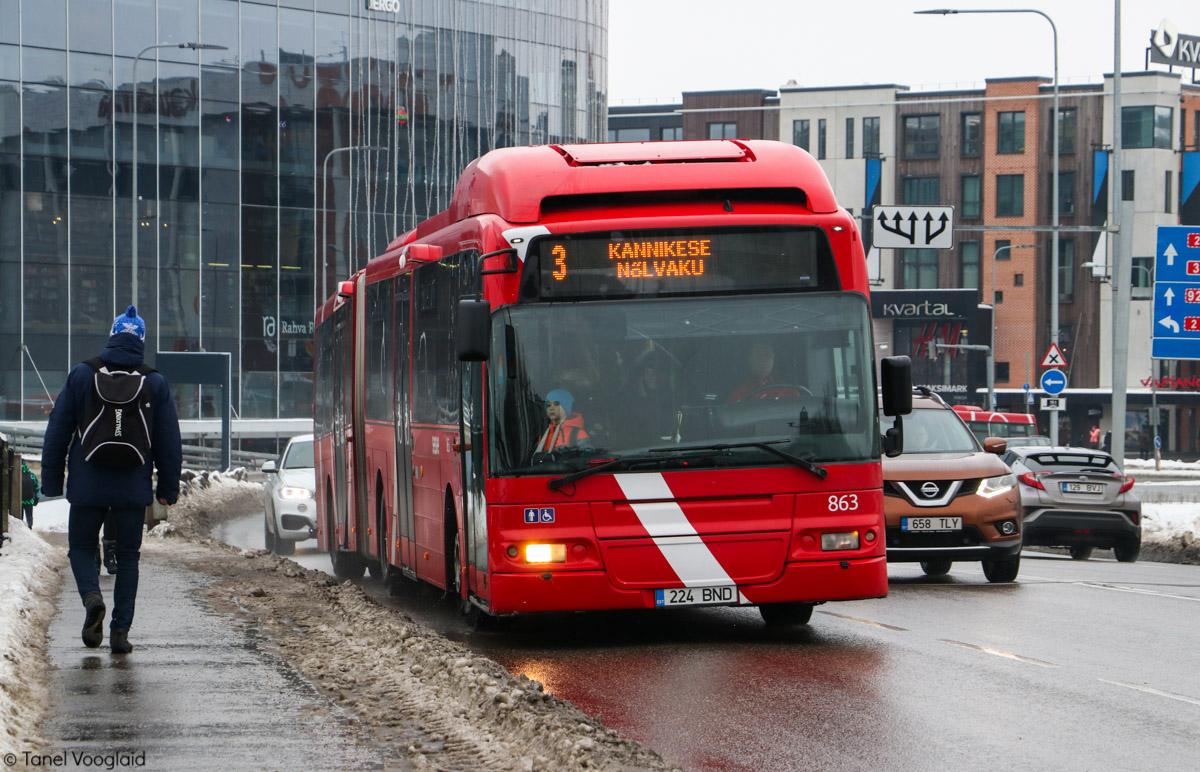 Tartu, Volvo 7500 № 863