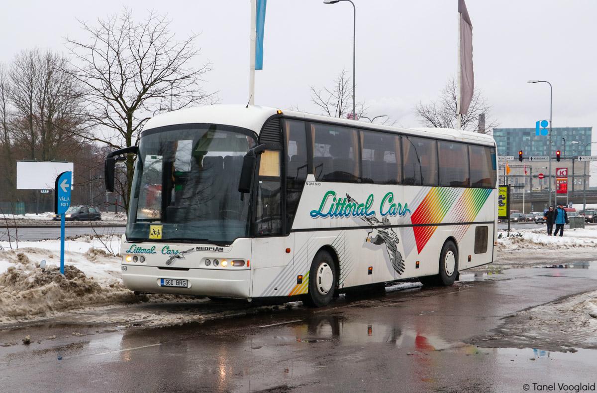Tartu, Neoplan N316SHD Euroliner № 660 BRG