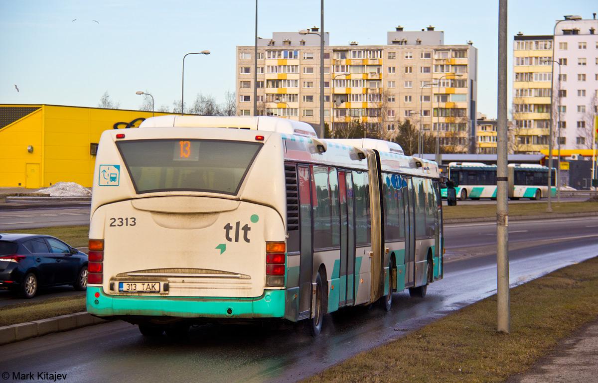 Tallinn, Scania OmniCity CN94UA 6X2 № 2313
