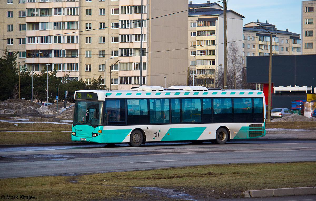 Tallinn, Scania OmniLink CL94UB № 3017